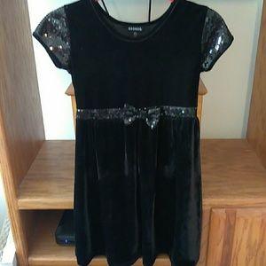 George Girls Velvet Dress